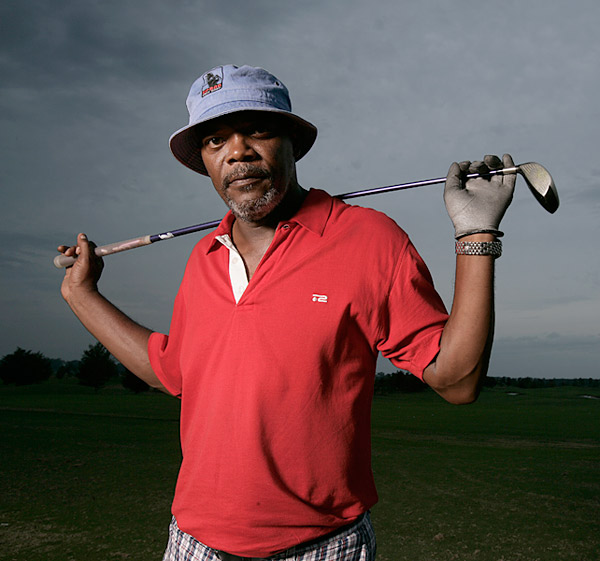 "No. 1 Billion-Dollar Man: Samuel L. Jackson                     ""I want to play with three guys who are hitting fairways and greens. Let's get this done in three hours. There should never be a five-hour round.""                                          Jackson, 62, stars in ""Meeting Evil,"" out later this year."
