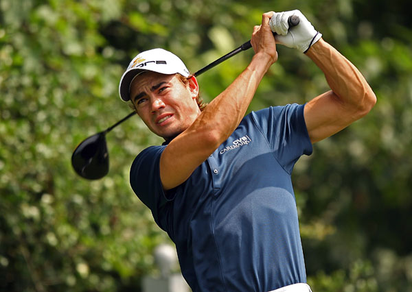 Camilo Villegas was unable to get anything going in the third round. He shot a two-over 73.