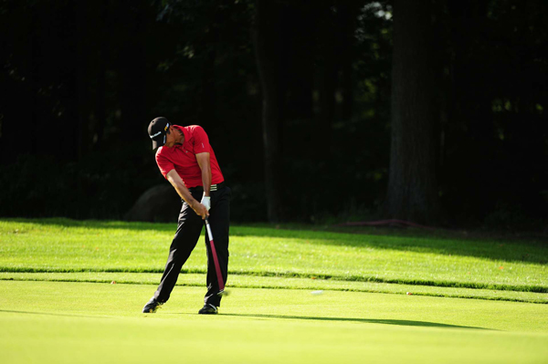 made four birdies, five bogeys and an eagle for a 1-under 70.
