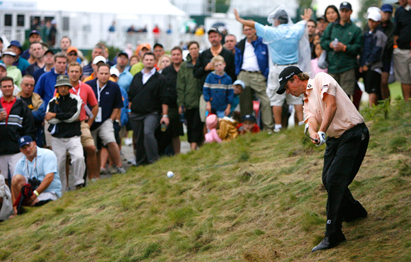 and Ernie Els were the only two players to break 70 in the second round.