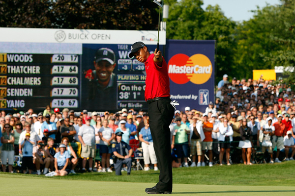 Buick Open                       Winner: Tiger Woods                       Tiger Woods made three birdies and no bogeys in the final round to win his fourth tournament of the year.                                              Read the entire article