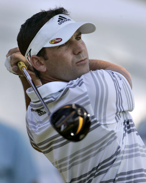 Sergio Garcia will be making his first appearance at the Deutsche Bank Championship.