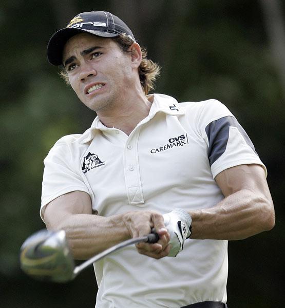 Camilo Villegas shot an eight-under 63, his lowest round on Tour.