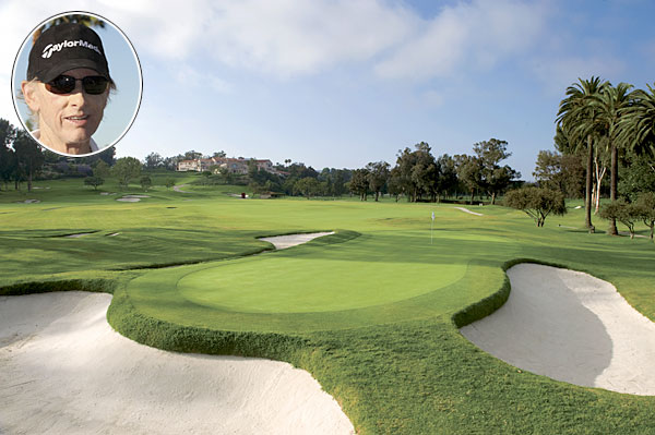 """I think it should easily be in the top 10 in the world. It's clearly the best course in the L.A. area. Riviera gives you room off the tee, but there's not a lot of roll and the wind blows off the ocean a lot, making some of the holes play incredibly long and tough. It's always fair though and the greens are normally perfect. Plus you can't really play bump and run shots because of the Kikuyu in the fairways. Hogan won the U.S. Open at Riv — what more can you say?"""