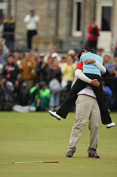 Lorena Ochoa won her first major Sunday at the Women's British Open.