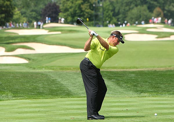 Lee Westwood finished T32 at last year's PGA Championship.