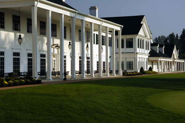More scenes from Oakland Hills                                          The clubhouse