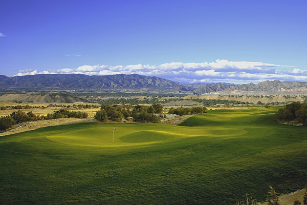 """8. Four Mile Ranch Golf Club                     Canon City, Colo.                     7,053 yards, par 72; Green fees: $59-$74;                     719-269-7444, fourmileranch.com                                          As far as Jim Engh is concerned, """"straightforward"""" is code                     for """"dull,"""" and he has yet to be accused of designing a boring                     course. But the heaving terrain he was handed in Colorado                     was so dramatic that Engh decided to just leave well enough                     alone.                                           The result is a quirky hodgepodge that resembles                     nothing you've seen in golf. There are no formal bunkers,                     just white shale ridges called hogbacks. Ranging in height                     from three to thirty feet, they're all Engh                     needed to balance out the blind shots,                     native grasses and fearsome greens.                     Love it or hate it, the 560-yard, par-5                     6th is unforgettable, its green obscured                     by huge rocks. This is adventure golf                     at its finest. Four Mile Ranch enjoys                     mountain vistas in every direction — but it's those on-course hogbacks that                     will linger long in your memory."""