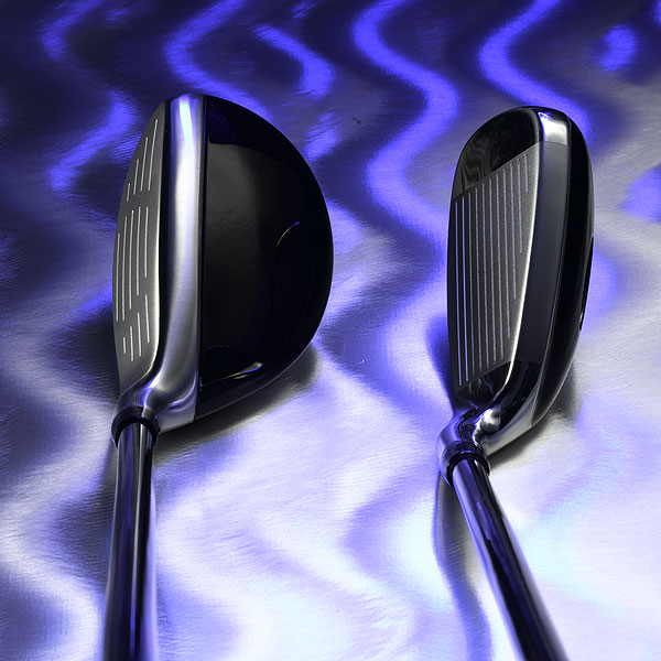 CLUBHEAD                       The long and midirons                       have a hollow                       body, like woods,                       so more weight can                       be moved down                       and back. Mid-irons                       launch shots 1/2 to                       1 degree higher                       than typical irons.