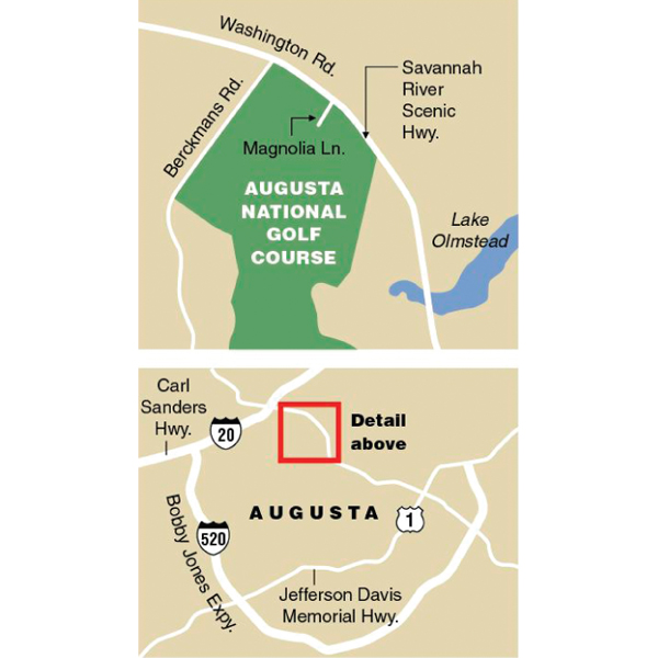 Map of the Area
