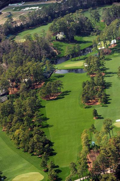 Firethorn, the par-5, 530-yard No. 15 at Augusta National.