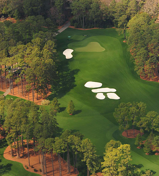 3rd hole, Augusta National
