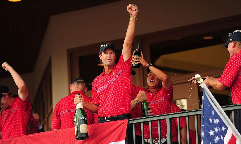U.S. Captain Paul Azinger lead the team to an inspiring triumph—the first for the Americans in nine years.