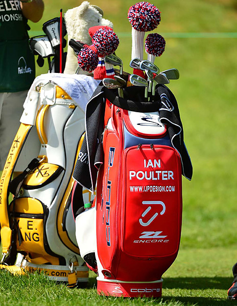 Ian Poulter uses Cobra Pro CB irons (4-7) and Cobra Pro MB irons (8-PW).