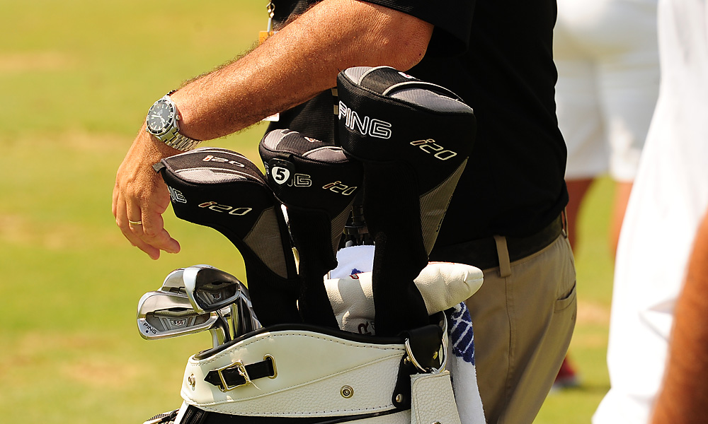 Louis Oosthuizen plays Ping's S56 irons. You can see him talking about all the clubs in his bag in this video.