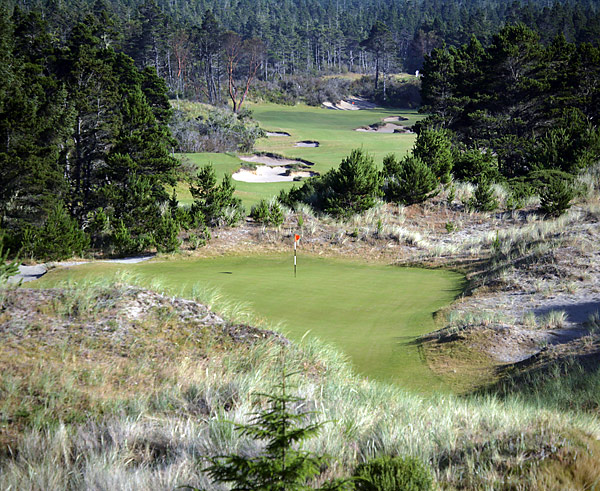 No. 13: Bandon Trails; Bandon, Ore.                       Designers: Bill Coore and Ben Crenshaw