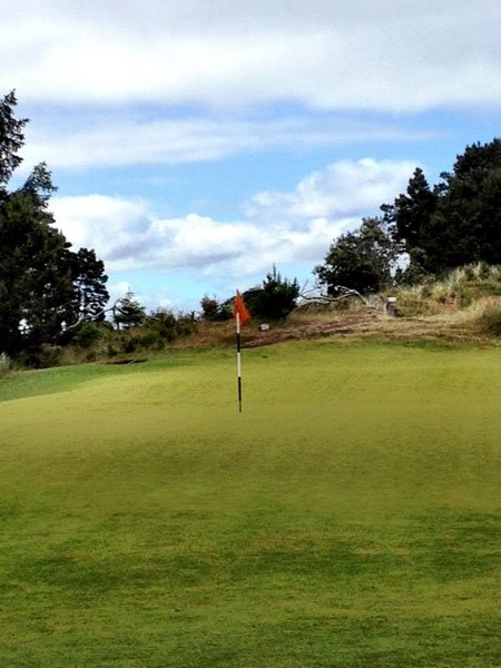 """""""@eamonlynch: The 2nd at Bandon Trails. 8:58am. Blessed be the Ecco boom hybrid shoes."""""""