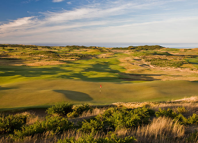 28. Old Macdonald, Bandon, Oregon, U.S.: Ranked Number 88 in the world, this 2010 Tom Doak/Jim Urbina collaboration features turnpike-wide landing areas and gigantic, heaving greens that are hard to miss. To get the ball into the hole, however, you'll need to master angles, strategy, trajectory and the ground game, making for an Old World links experience second to none in the U.S.