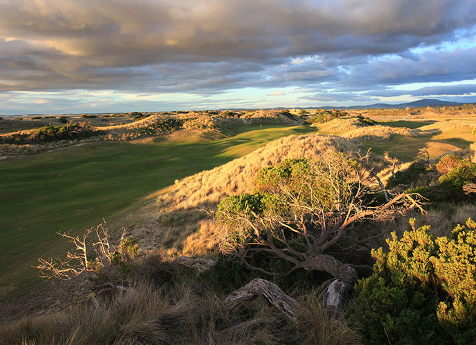 12. Barnbougle Dunes, Bridport, Australia: Australia's greatest links finished 34th in our most recent world rankings, due in large part to the sophisticated Tom Doak/Mike Clayton design and partly due to the stirring seaside setting in Tasmania, with holes nestled down in the large dunes that run parallel to the ocean.