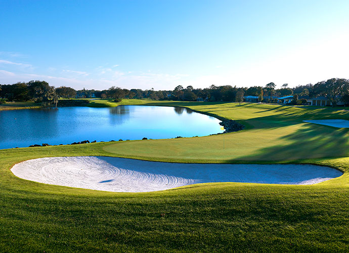 47. Arnold Palmer's Bay Hill Club (Champ.) Orlando, Fla.; Dick Wilson/Arnold Palmer (1961/2009) -- $100-$275, bayhill.com