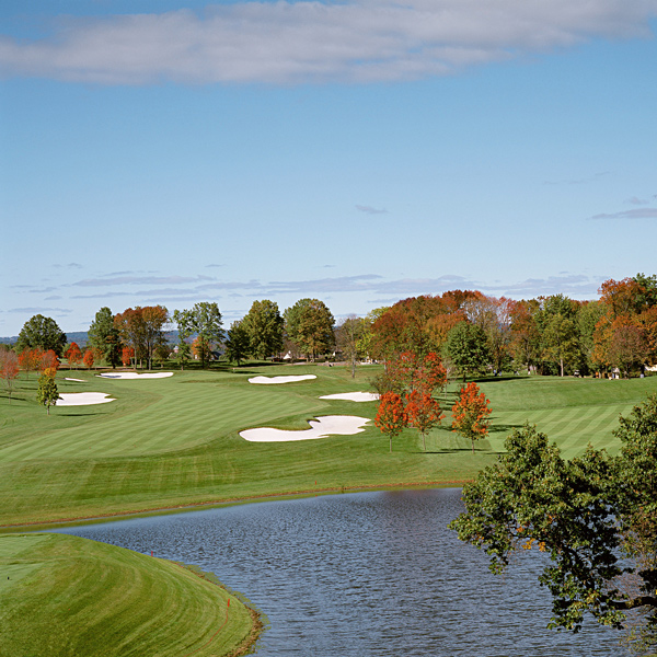 Trump National Golf Club, Bedminster                       Bedminster, N.J.                                              OPENED 2004                       ARCHITECT Tom Fazio                       PAR 72 (7,565 yards)                       INITIATION FEE $350,000                       ANNUAL DUES $18,000                       MEMBERS 325                       RANKINGS Golf Magazine Top 100 in the U.S. (54th); GolfWeek's Best Courses/Modern (49th), Best Courses/New (3rd)                       Huge greens, wide fairways, immense tee boxes, sprawling bunkers — yet the course is very playable and easy to walk.