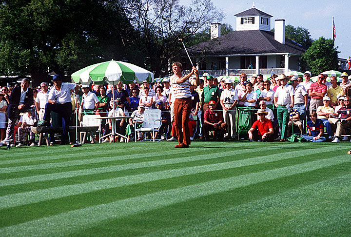 In 1984, Ben Crenshaw shot a final-round 68 to win his first green jacket by two strokes.