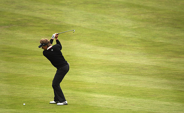 Bernhard Langer shot 65 to finish fourth.
