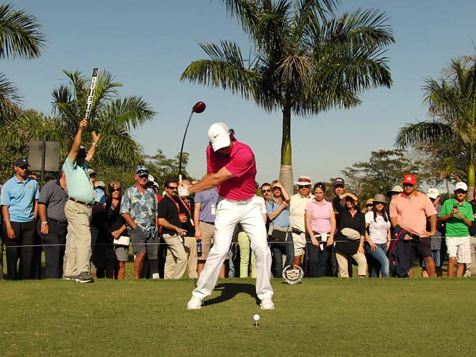 Who has the best swing on Tour?                      Rory McIlroy: 17%                      Adam Scott: 14%                     Tiger Woods: 12%                     Louis Oosthuizen 12%                     Ernie Els 6%