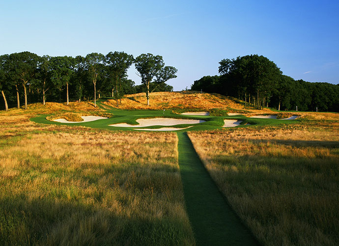 2. Bethpage State Park (Black) [No. 4], Farmingdale, N.Y.; $78-$150, nysparks.comNew York State residents pay just $65-$75 to walk this feared but respected two-time U.S. Open venue, an almost incomprehensibly paltry sum to play a course this good. Though it's a tough tee time to snag, outsiders can walk this A.W. Tillinghast design for $130 during the week, $150 on weekends, with twilight rates starting at $78. Even at $150, that's less than half the price of the average Top 10 course.