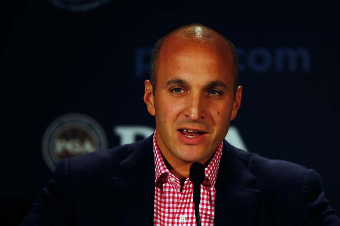 """It's a better time to host a major championship. More people are around and in the swing of things. Less people are on their summer vacations. We think it's actually going to work out to our advantage.""                       --PGA of America CEO Pete Bevacqua on moving the PGA Championship to late July in 2016 to avoid conflicts with golf's return to the 2016 Olympics."