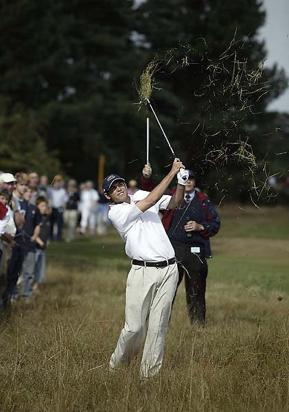 Bill Haas at the 2003 Walker Cup at Ganton Golf Club in England. Great Britian and Ireland won its third-straight Walker Cup that year.