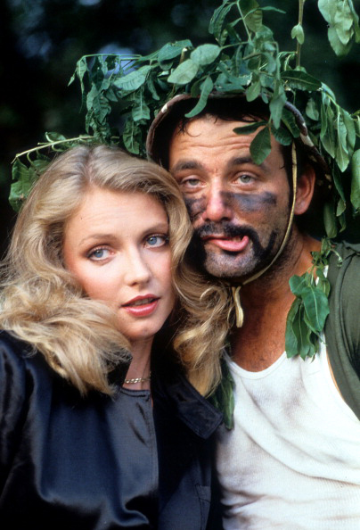 """""""We were struck by comedy lightning, you don't want to plan doing a film like this. You can't plan something like this.""""                     --Actress Cindy Morgan on the making of Caddyshack. Morgan played Lacey Underall in the movie."""