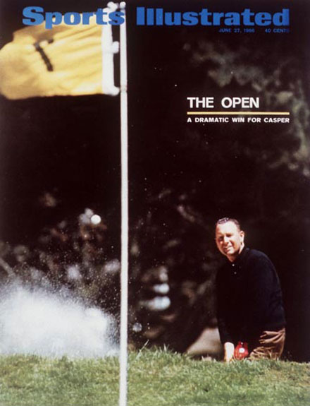 Billy Casper wins the 1966 U.S. Open at OlympicJune 27, 1966