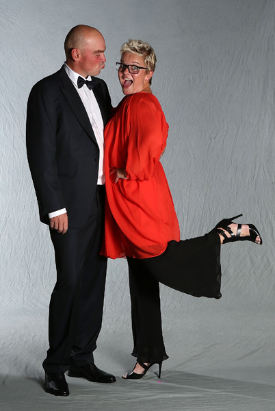 Thomas Bjorn and his wife, Pernilla.
