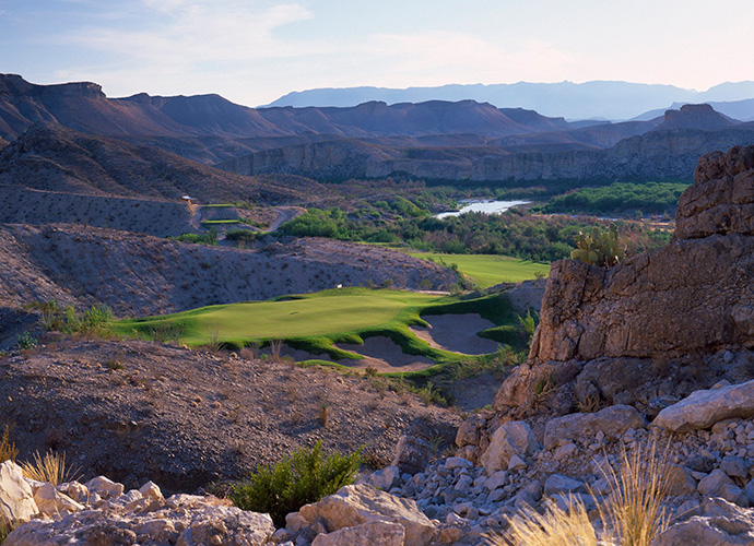Black Jack's Crossing at Lajitas Golf Resort, Lajitas: This new design from Lanny Wadkins takes its cues from a preexisting Robert Trent Jones Jr. design on the site called the Ambush that featured an optional par-3 green located in Mexico, with its tee in Texas. Today's course didn't retain the gimmick, but as befits the Wadkins style, it boasts plenty of risk/reward holes. It also possesses the rugged grandeur of its Big Bend National Park setting, along the edge of the Rio Grande. (432-424-5000, lajitasgolfresort.com)