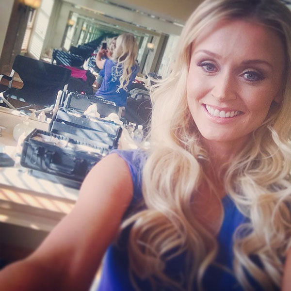 @BLAIRONEAL: Beh-the-scenes #gettinglam