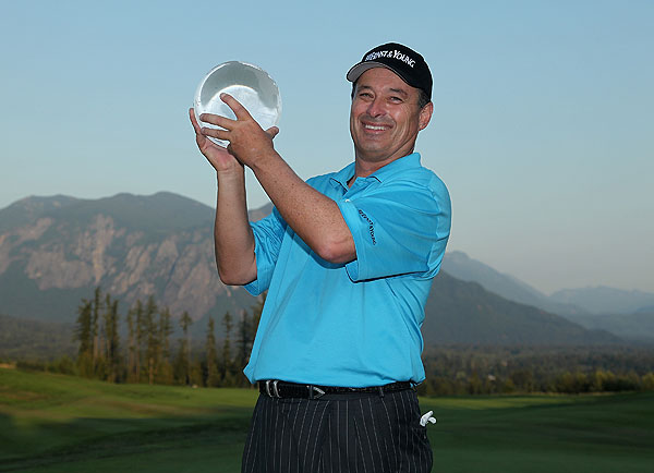 Loren Roberts can look into your future after winning the 2009 Boeing Classic.