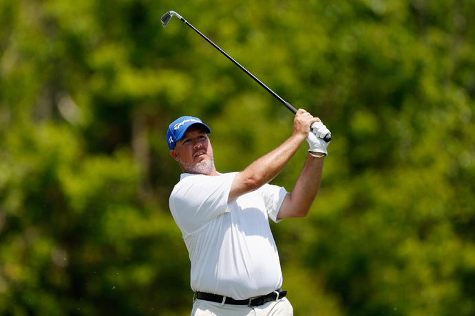 Boo Weekley is four shots back after a one-over 73.
