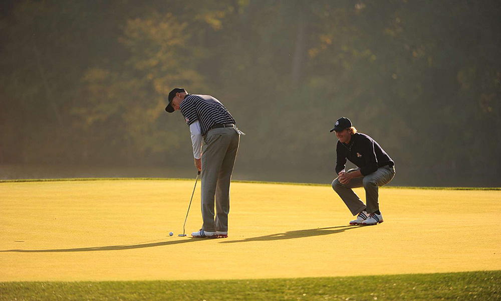 Some questioned the pairing of Furyk, left, and Snedeker, but they played well on Saturday.