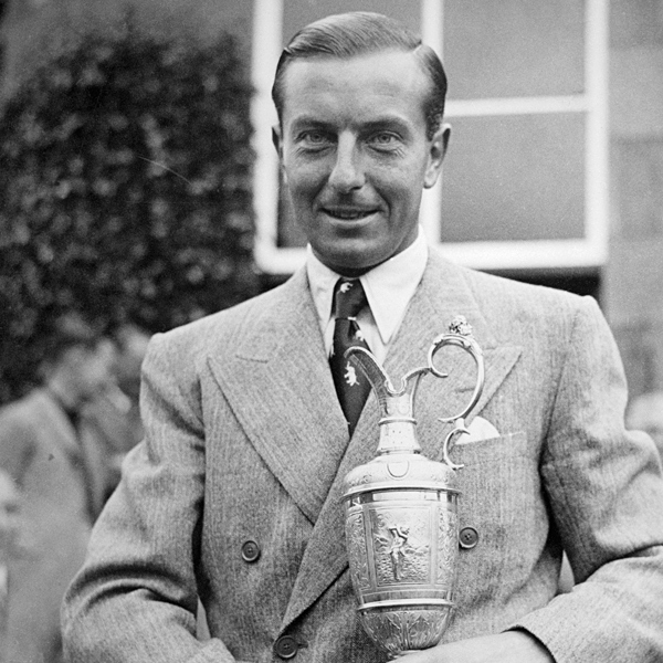 "1937                        CHAMPION                       HENRY COTTON                                              SCORE 290                                              • Under a heavy, bone-chilling rain, final-round scores ballooned, including a 76 from Sam Snead and an 80 from Henry Picard. In such dreadful conditions, Cotton's 71 was, he said, ""one of the greatest rounds of my life."""