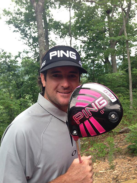 @bubbawatson: Yep! This week new @PingTour driver!! #G30