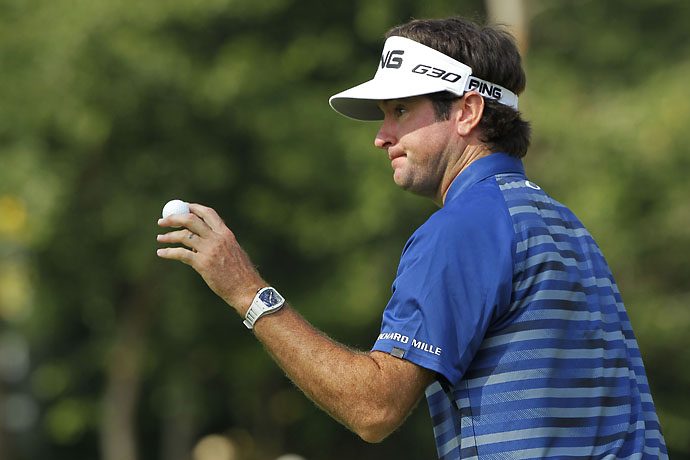 """I take it on the chin. It was my fault. Everything's my fault and I should be bigger and stronger and better than that.""                       --Bubba Watson on criticism of his behavior at the 2014 PGA Championship"