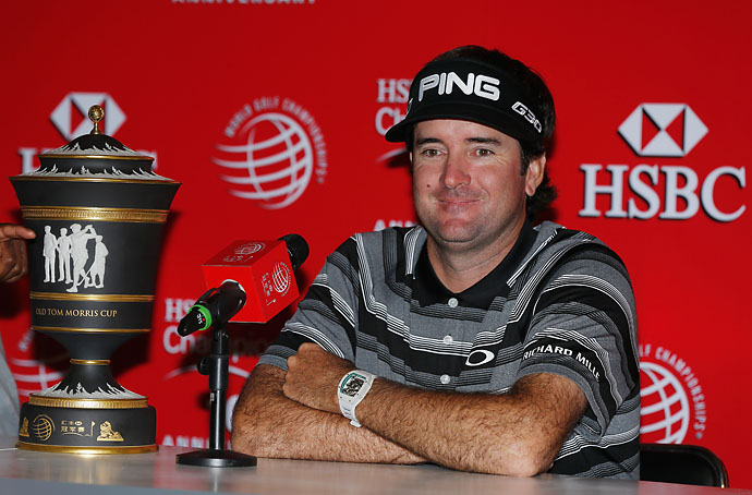 """I don't think I've come that close.""                       Bubba Watson on whether he's fulfilled his potential as a golfer."