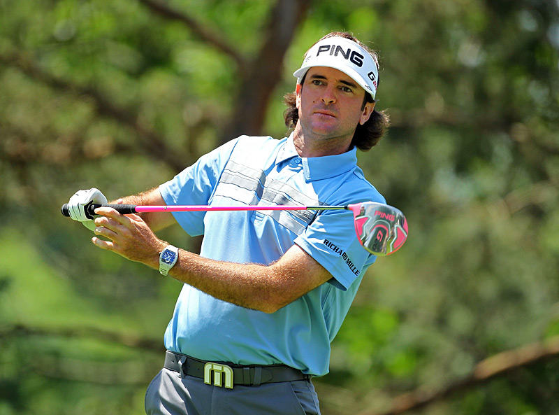 After a 75 Thursday, Bubba Watson will need a good round Friday to make the cut.