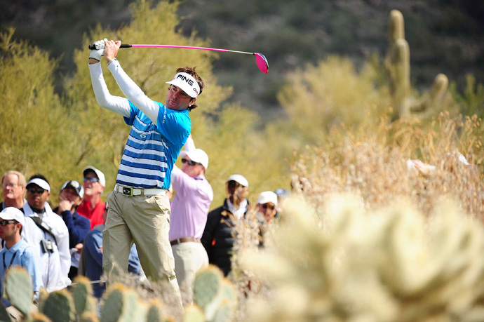 Bubba Watson is the highest seed remaining after another day of upsets Friday at the Match Play Championship. Watson needed 22 holes to outlast Jim Furyk.