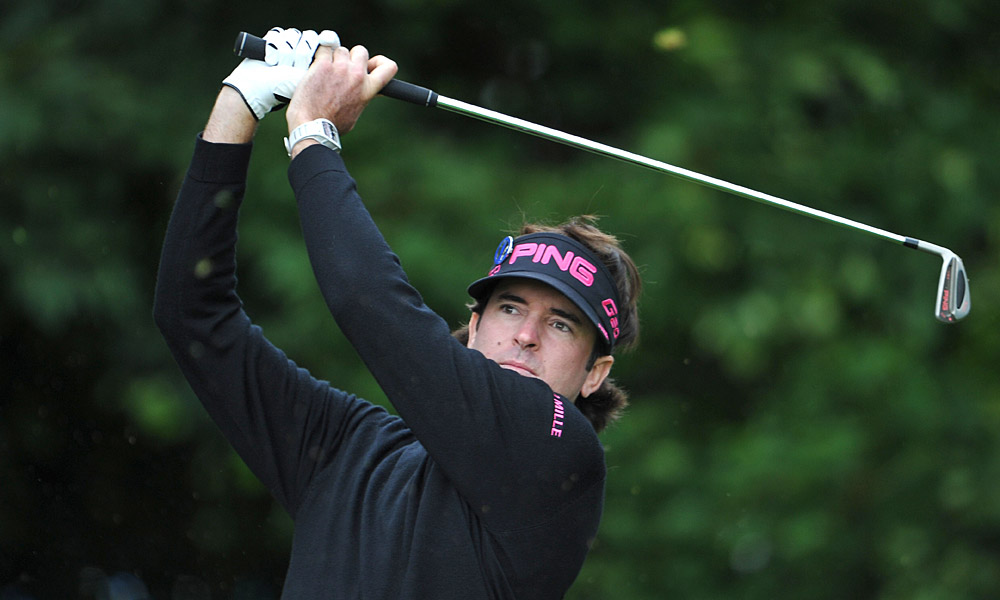 Bubba Watson won the Masters in April but has not played much since.