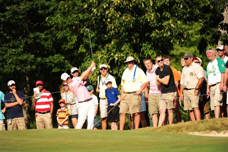 On the second playoff hole, Johnson blasted out of a fairway bunker to a foot to close out his second win of the season.