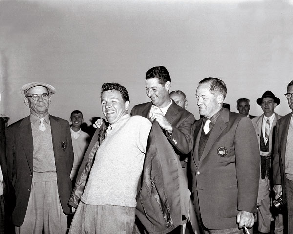 10. Jack Burke Jr.                       Burke received the green jacket from Cary Middlecoff after rallying from eight strokes behind Ken Venturi to win the 1956 Masters. He also won the PGA Championship in 1956 and was named PGA Player of the Year. He won 17 events on the PGA Tour.