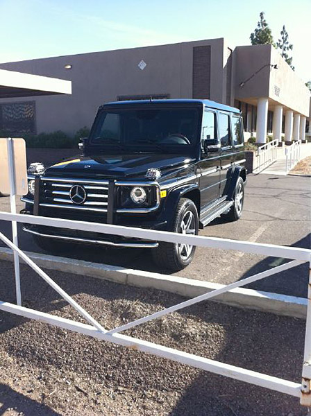Bubba Watson                     Watson is one of golf's biggest gearheads. In 2010, Watson bought the Mercedes G-Class pictured here.