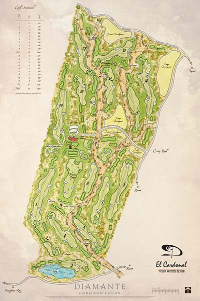 Here's what Tiger Woods' El Cardonal course will look like when it's completed.